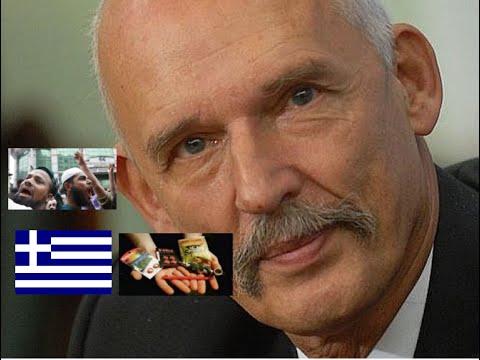 Janusz Korwin-Mikke / Grecja / Dopalacze / Masakra w Srebrenicy