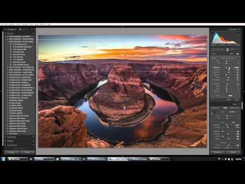 Horseshoe Bend: Final Image Processing in Lightroom 4 - From the HDR Photography Workshop Series
