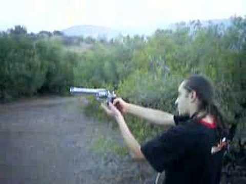 Revolver 44 magnum Taurus los Andes