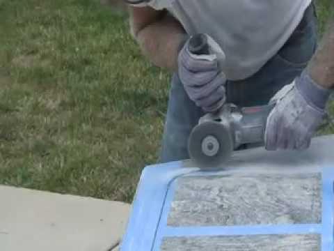 How To Cut Amp Polish Granite Countertop Diy Undermount