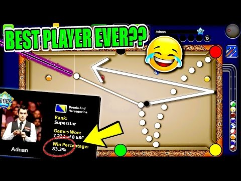 Expert Tricks and Skills - IS THIS THE BEST PLAYER IN 8 BALL POOL HISTORY?? - Miniclip 8 Ball Pool