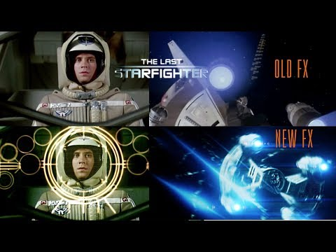 The Last Starfighter - Redone VFX Teaser (1984) Sci-Fi Cult Classic