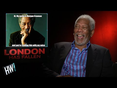 Morgan Freeman Reacts To Funny Memes Of Himself!