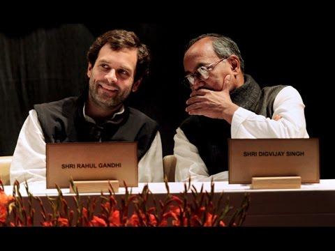 Digvijaya Singh Bats For Rahul Gandhi