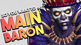 SMITE: So You Want to Main Baron Samedi | Builds | Combos & More! (Baron Samedi Guide)