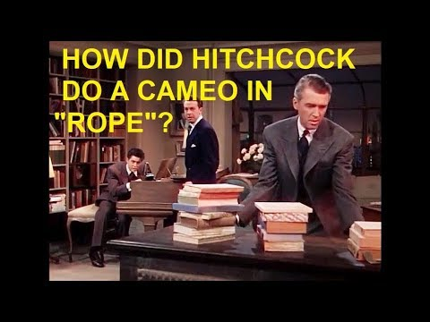 """How Did Alfred Hitchcock Do A Cameo In """"Rope""""? (1948)"""