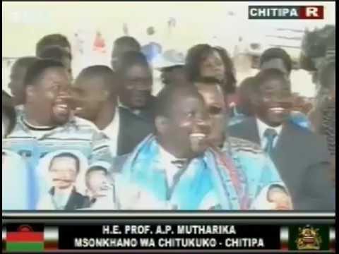 Malawi President Peter Mutharika's Speech at Chitipa - 1 June 2016