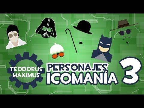 Soluciones Icomania respuestas Personajes 124- 149 Español 2013