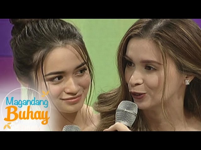 Magandang Buhay: Sunshine and Angelina's touching message for each other