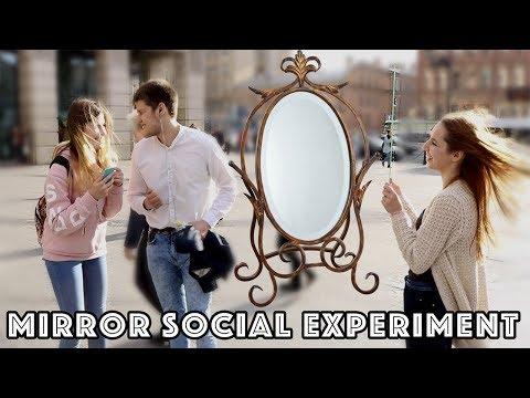 Ты прекрасен / 'You're Beautiful!' -- Mirror Social Experiment