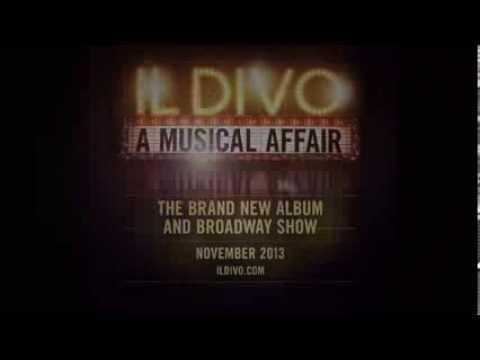 Il divo a musical affair 39 album broadway show trailer for Il divo cd