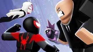 The SPIDER-VERSE UPDATE!! (Roblox Superhero Simulator)