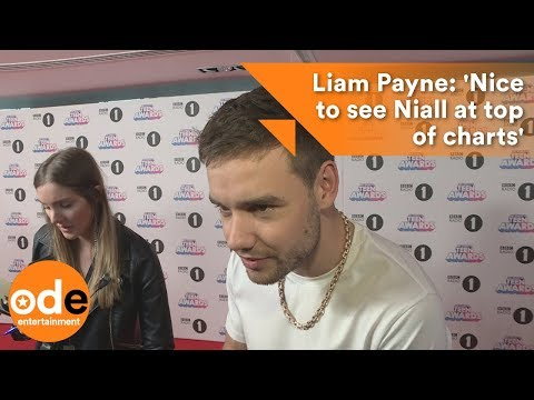 Liam Payne: 'Nice to see Niall at top of charts'