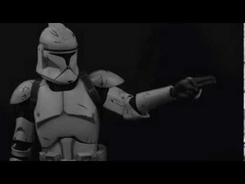 Sideshow Collectibles Star Wars Deluxe Veteran Clone Trooper 1:6 Figure Photo Review