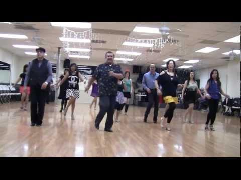 Heidi Improver Line Dance Demo Video By Vogue Dance Club Dancers video