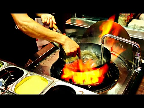 How to Cook in a Chinese Wok Station