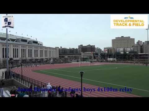 "Jonas Bronck Academy MS228 Track and Field 4x100m relay Boys ""A"""
