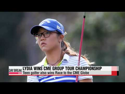 Lydia Ko wins CME... Stacy Lewis Player of the Year   리디아 고 CME 우승... 스테이시 루이스 올