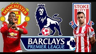 Manchester United vs Stoke City, Premier League, prediction Match 15-01-2018