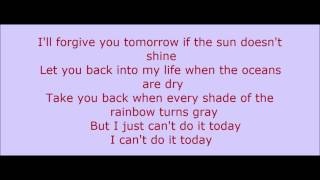 Gary Allan - Can't Do It Today