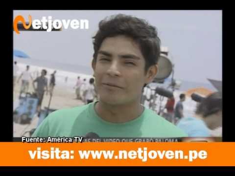 Detrás de cámaras del video de Erick Elera y Paloma Fiuza