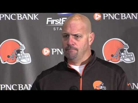 Reaction from Browns' Mike Pettine after victory over the Buccaneers