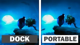 Ori & The Blind Forest | Nintendo Switch | Dock VS Handled Comparison & FPS