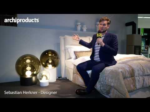 Imm Cologne 2017 | Sebastian Herkner ci racconta il nuovo letto prodotto con Schramm