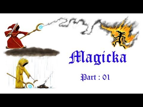 Magicka w Furryears Chimycham Part 1 Learning spells