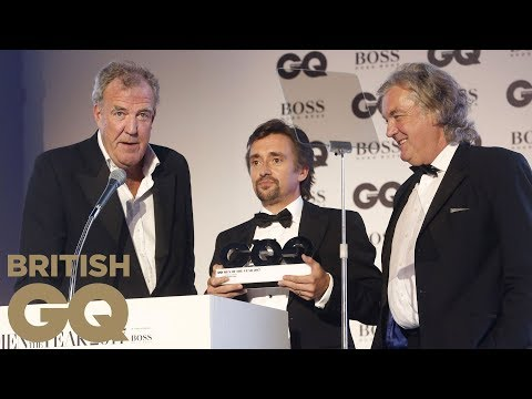 The Grand Tour Win the TV Personalities of the Year Award | Men of the Year Awards 2017 | British GQ