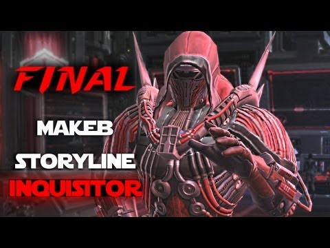 SWTOR: Rise of the Hutt Cartel | Inquisitor Chapter 4 Ending - The Archon | Makeb Storyline Final
