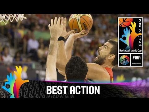 Iran v Spain - Best Action - 2014 FIBA Basketball World Cup