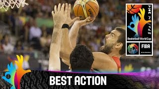 Iran v Spain - Best Action - 2014 FIBA Basketball World Cup