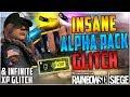 INSANE INFINITE XP GLITCH + UNLIMITED FREE ALPHA PACK GLITCH - TUTORIAL - (Rainbow Six Siege)