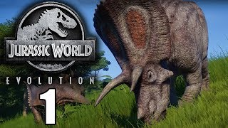Starting our First Jurassic Park! - Jurassic World Evolution Gameplay - Part 1 - Isla Matanceros