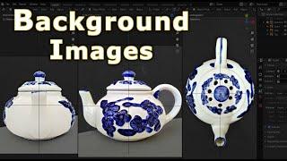 Blender 2.8 - Background Image Setup (Beginners Crash Course)