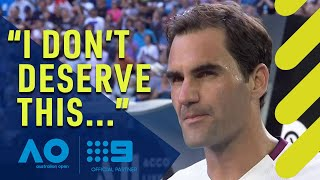 Federer's incredibly honest admission | Wide World of Sports