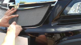 Видео: Защитная сетка радиатора Opel Mokka 2012 chrome