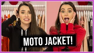 MOTO JACKET CHALLENGE!? | Closet Wars w/ Merrell Twins