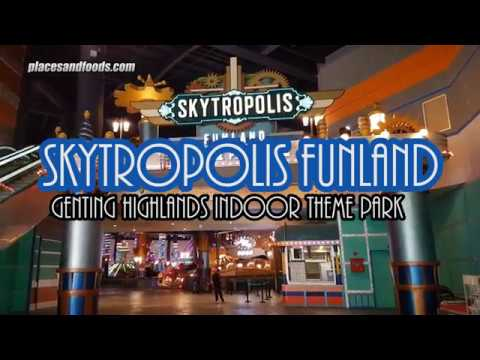 Genting Highlands Indoor Theme Park Skytropolis Funland