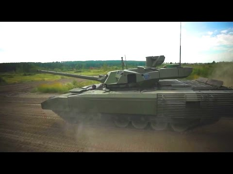 UralVagon Zavod - T-14 Armata Main Battle Tank [1080p]