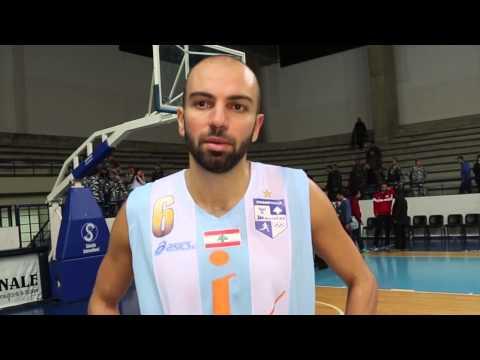 Sabah Khoury post game video Champville Bejje 12-2-2014