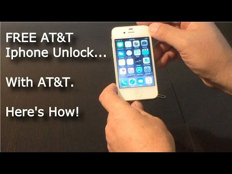 AT&T Free IPhone 7 Factory Unlock by AT&T - ABSOLUTELY FREE!!!  How to on Iphone 7 6 plus 6s 5 5s 4