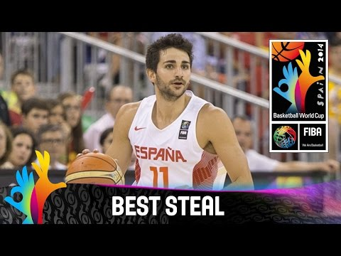 Spain v Egypt - Best Steal - 2014 FIBA Basketball World Cup
