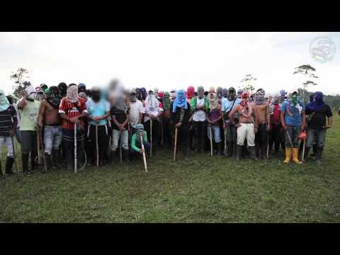 Denuncia pública del resguardo indígena nasa en el Putumayo, Colombia