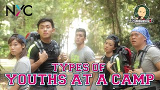Types Of Youths At A Camp