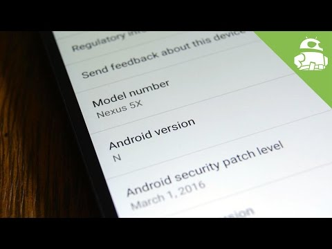 Android N Quick Look