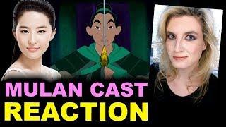 Disney's Live Action Mulan - Liu Yifei aka Crystal Liu Cast - REACTION