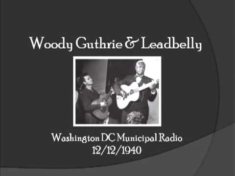 【TLRMC043】 Woody Guthrie & Leadbelly  12/12/1940