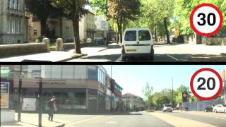 20mph vs. 30mph on Whiteladies Road